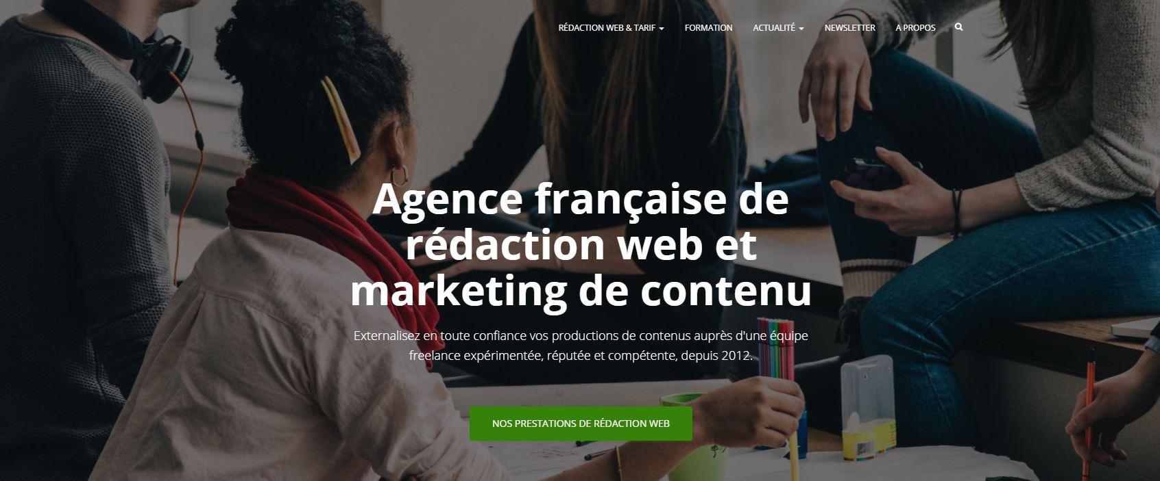 Agence de rédaction web