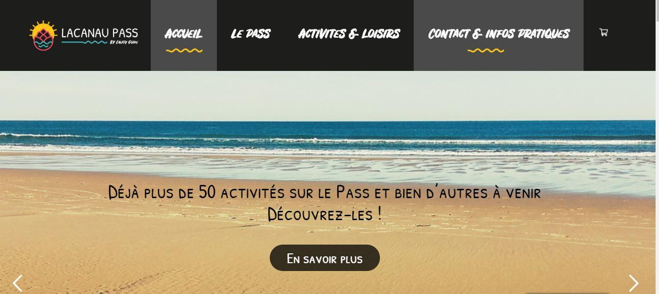 Rédaction web et optimisation SEO - Lacanau Pass