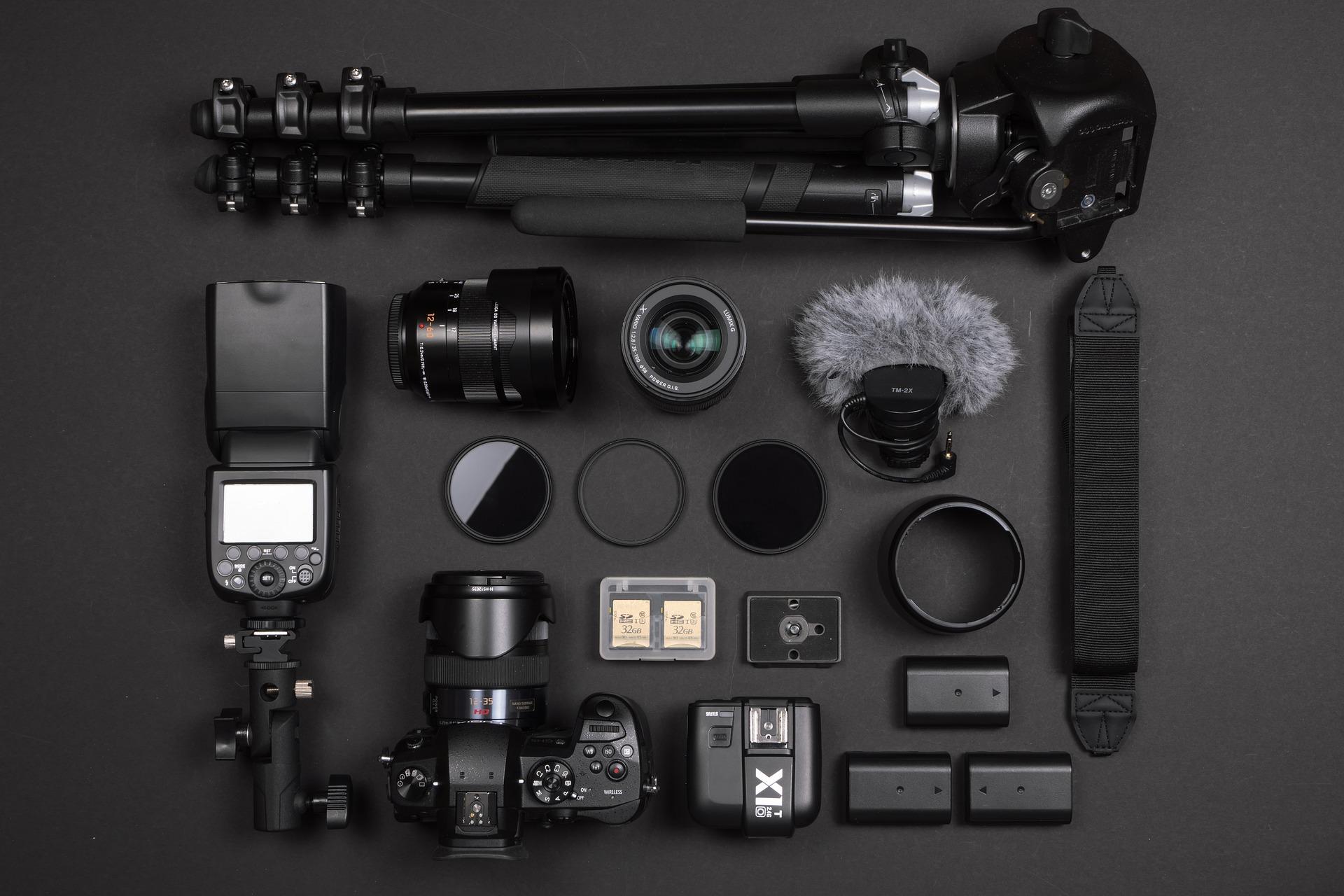 matériel photographie