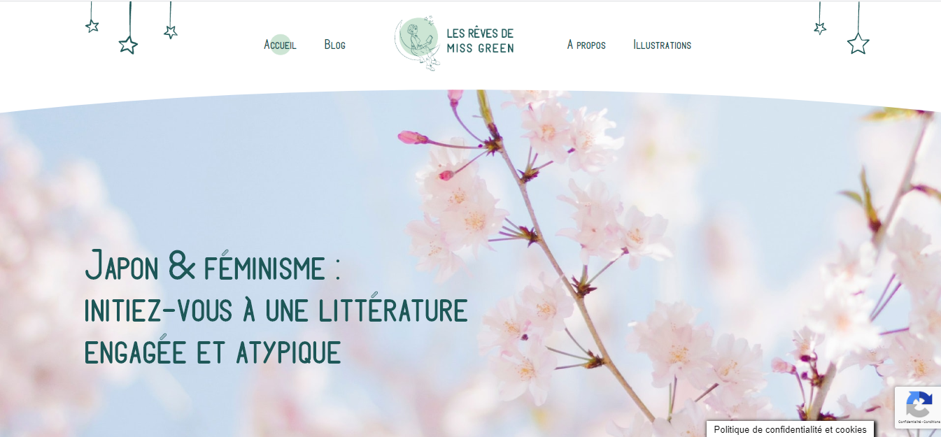Analyse sémantique blog littéraire